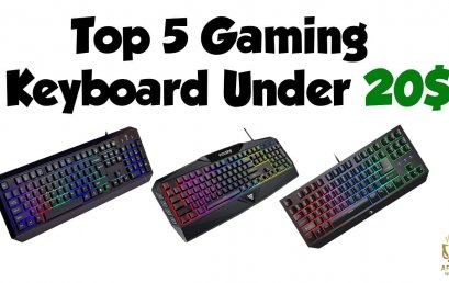 5 best gaming keyboards under $20 that you cannot ignore