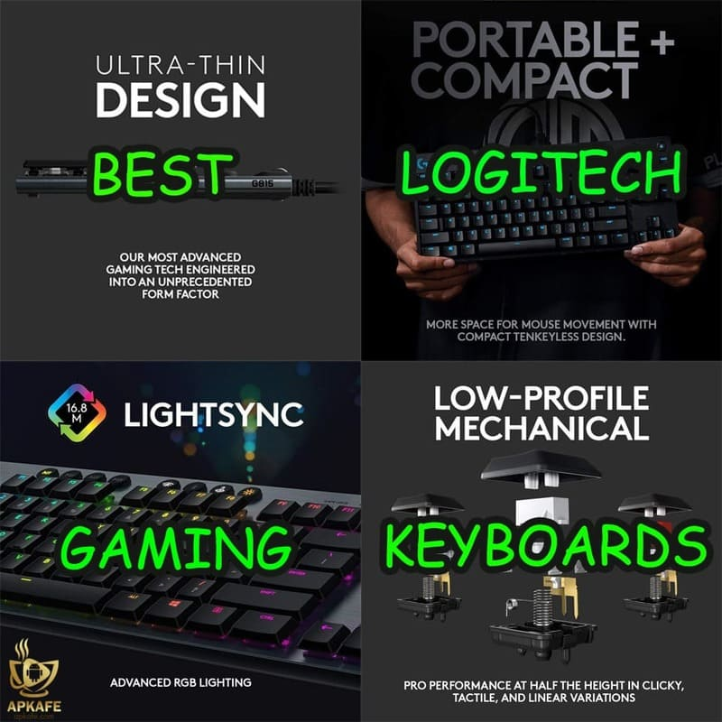 5 Best Logitech gaming keyboards