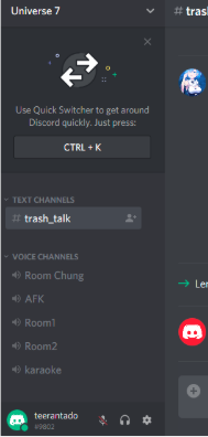 How to chat voice with friends by a private channel on the Discord