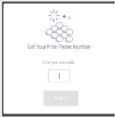 How to register a TextNow account