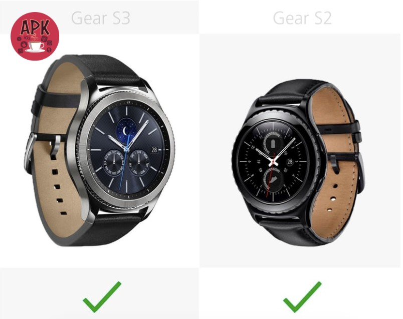 Samsung Gear S3 is really better than Samsung Gear S2?