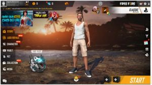 The instructions on how to play the Garena Free Fire APK on mobile 1