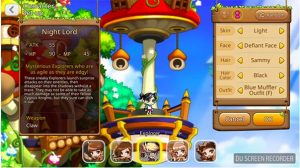 The five-character classes in the MapleStory M app game 5