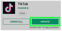 how to update tiktok 2