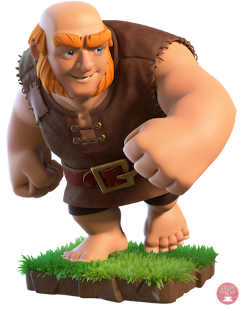 What are the most popular troops in clash of clans?