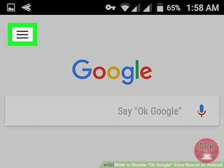 How To Disable Ok Google On Android