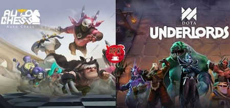 Dota Underlords vs Auto Chess Mobile