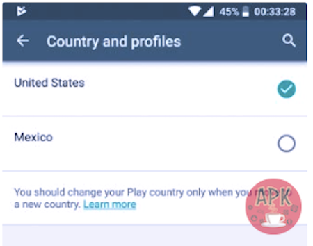 How To Change Country In Play Store - Tip and tricks - Apkafe.com