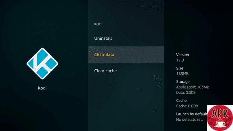 On the Fire TV device - How to reset Kodi- HOW TO RESET KODI AND CLEAR CACHE IN KODI.jpeg