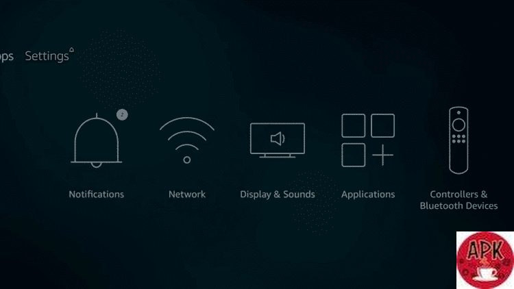 Step3-On the Fire TV device - How to reset Kodi- HOW TO RESET KODI AND CLEAR CACHE IN KODI.jpeg