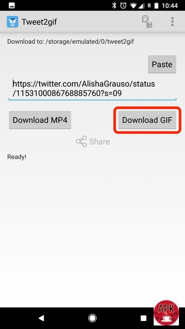 Step 4- Download Tweet2gif-5 WAYS TO SAVE A GIF FROM TWITTER ON ELECTRONIC DEVICES.jpeg