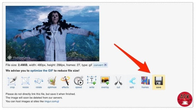 Step 7- Download EZgif-5 WAYS TO SAVE A GIF FROM TWITTER ON ELECTRONIC DEVICES.jpeg