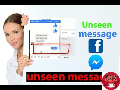 HOW TO READ FACEBOOK MESSAGES WITHOUT BEING SEEN