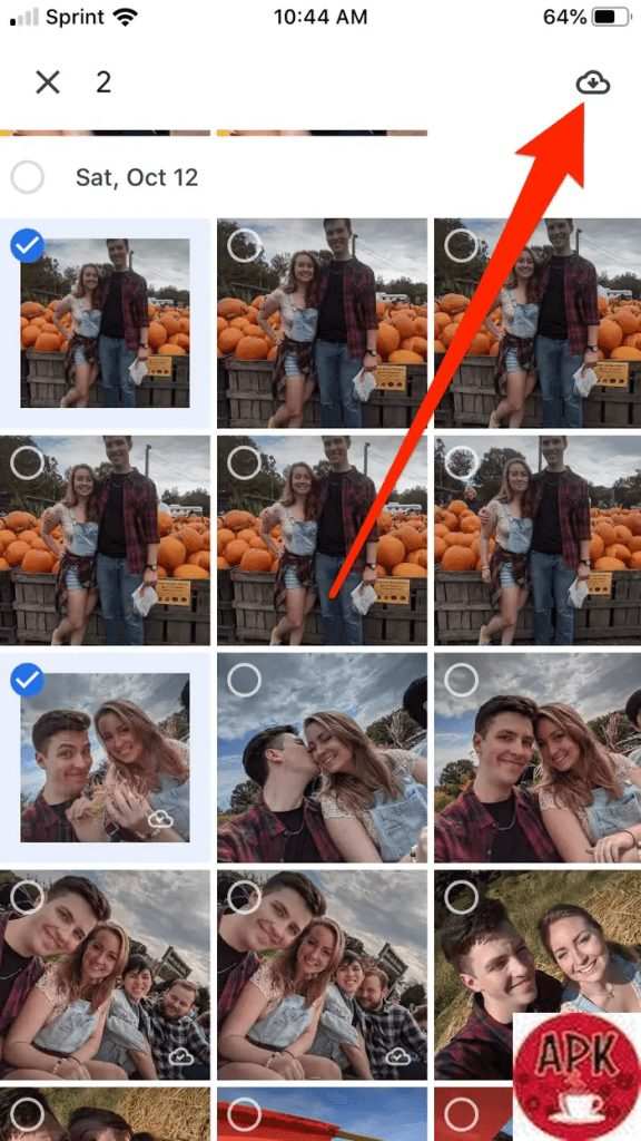 Step 5 -How to download all Google photos to your iPhone-4 HOW TO DOWNLOAD PICTURES FROM GOOGLE PHOTOS EFFECTIVELY.jpeg