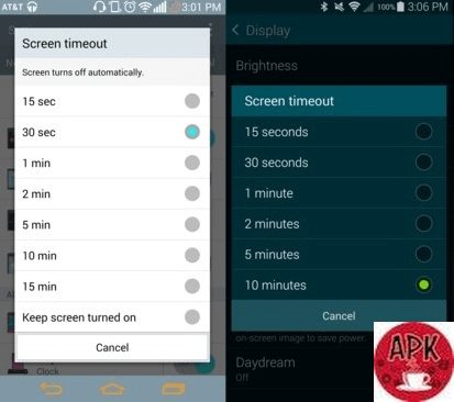 Reduce screen timeout-23 WAYS TO IMPROVE YOUR ANDROID PHONE BATTERY LIFE.jpeg