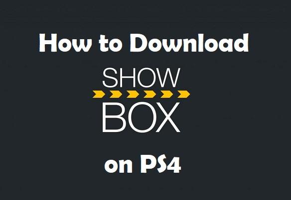 Showbox on PS4