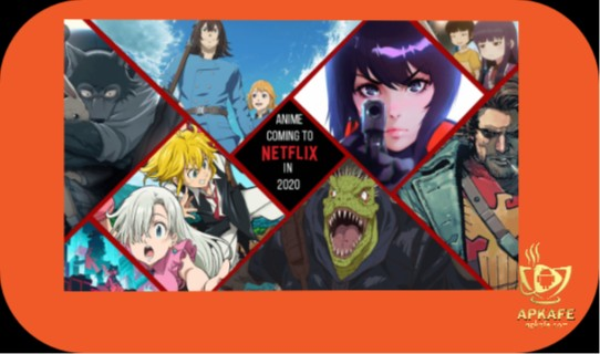 Series of 8 most favorite anime on Netflix. Have you seen it all?