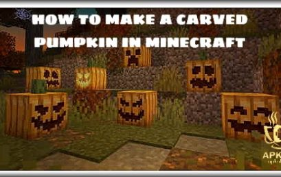 How to make a carved pumpkin in Minecraft