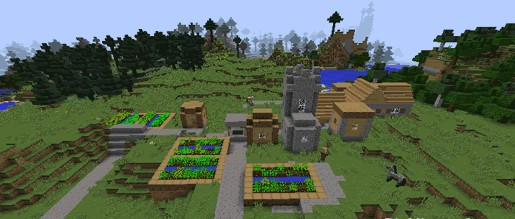 How to get carrots in Minecraft 1