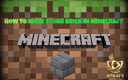 how to make stone bricks in minecraft