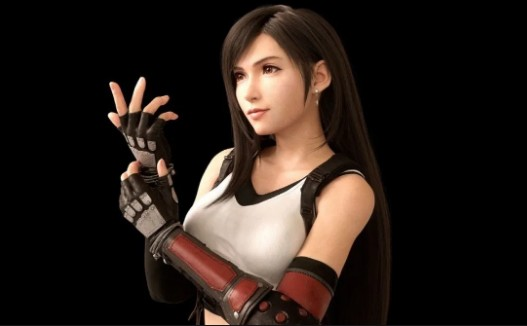 The collection of sexy paintings about Tifa – the big breasts beauty of Final Fantasy.